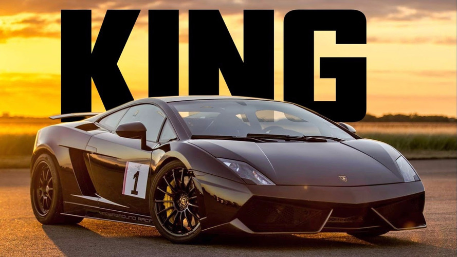 Watch a senior citizen beat the young guns in a biturbo Gallardo