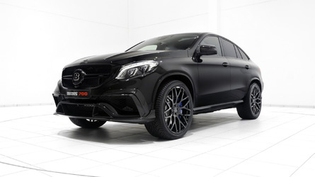 Brabus unveils 700 PS Mercedes-AMG GLE 63 S Coupe in Dubai