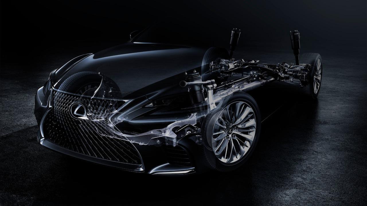 2018 Lexus LS teaser