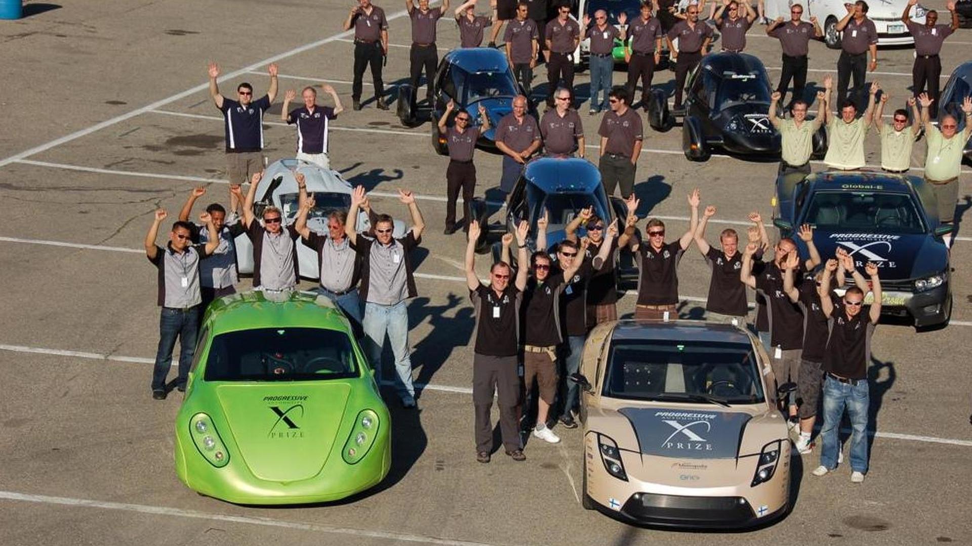 Automotive X PRIZE winners announced