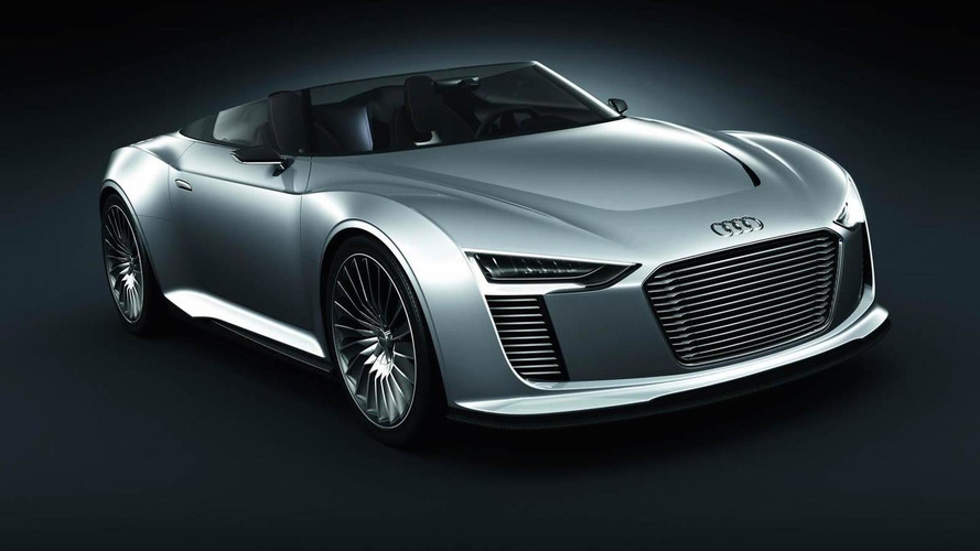 Audi e-Tron Spyder Concept revealed [video]