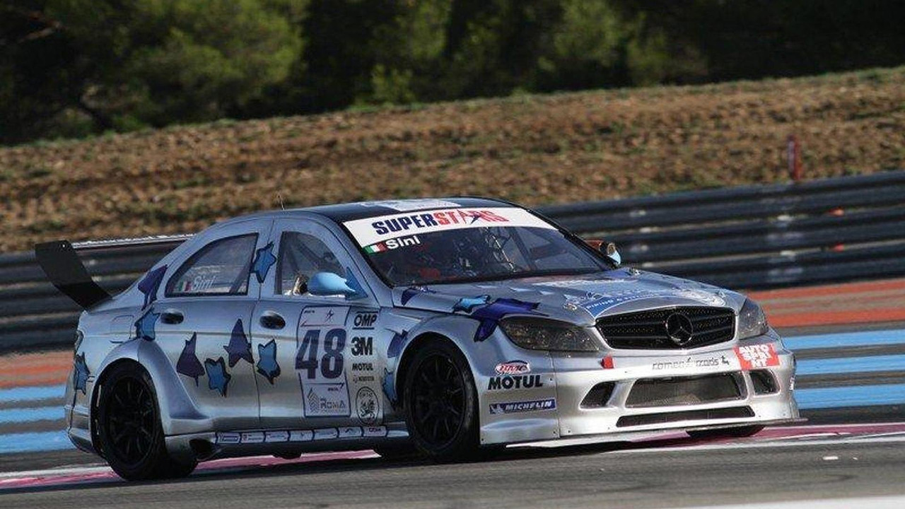 Mercedes C63 AMG by Romeo Ferraris, Superstars Championship, Sini, 800, 05.10.2010