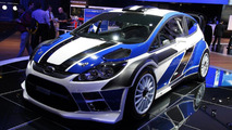 Ford Fiesta WRC live in Paris 30.09.2010