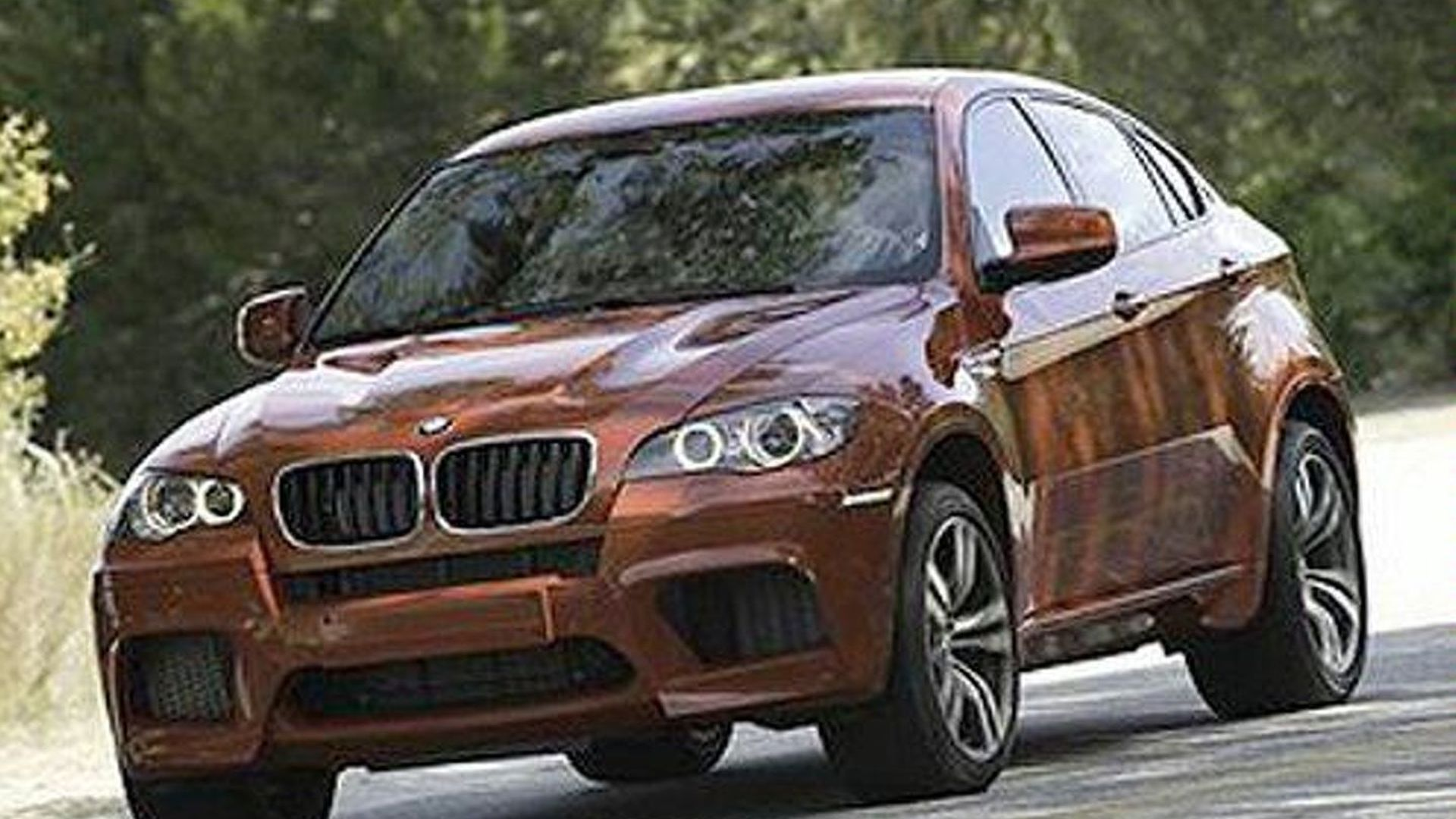 BMW X6 M Leaks Ahead of New York Debut