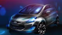 Hyundai ix20 MPV previewed ahead of Paris debut