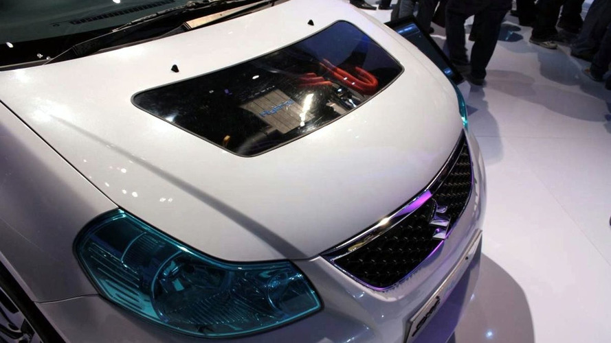 Suzuki SX4 Hybrid Unveiled in New Delhi