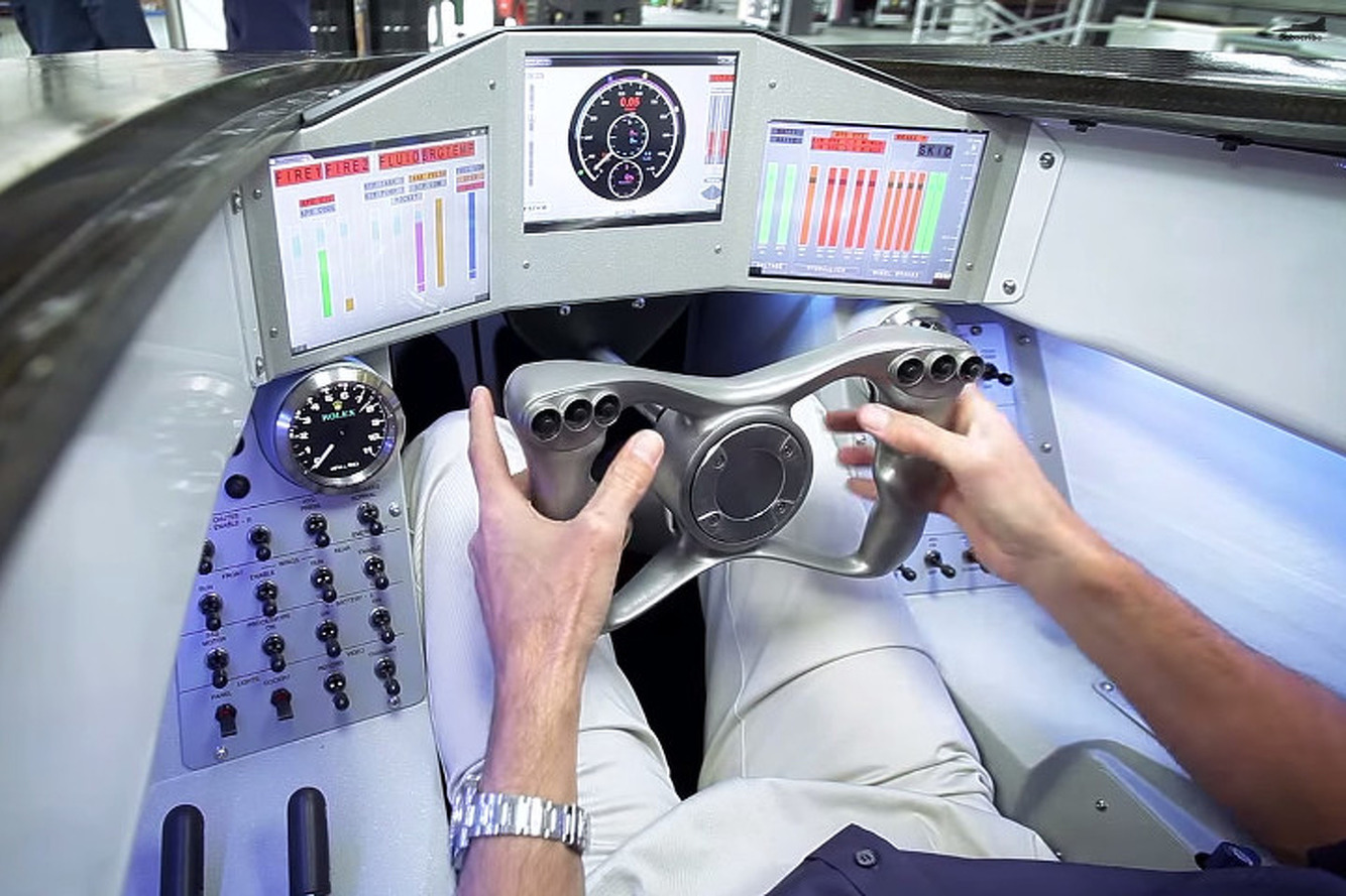 Check Out the High-Tech Cockpit of the World's First 1,000-MPH Supersonic Car [Video]