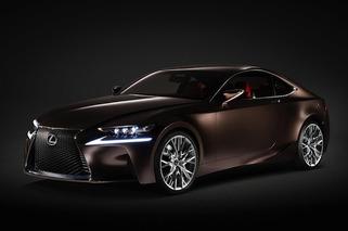 Lexus IS F, Coupe Coming in 2014