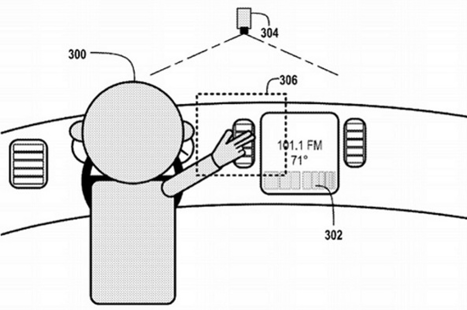 Google Files Patent for In-Car Gesture Recognition