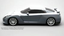 New Nissan GT-R computer rendering