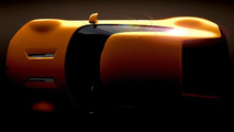 Kia GT4 Stinger concept teased for a third time, rides on a custom rear-wheel drive chassis