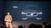 2015 Volvo XC90 teased during Concept Coupe media presentation