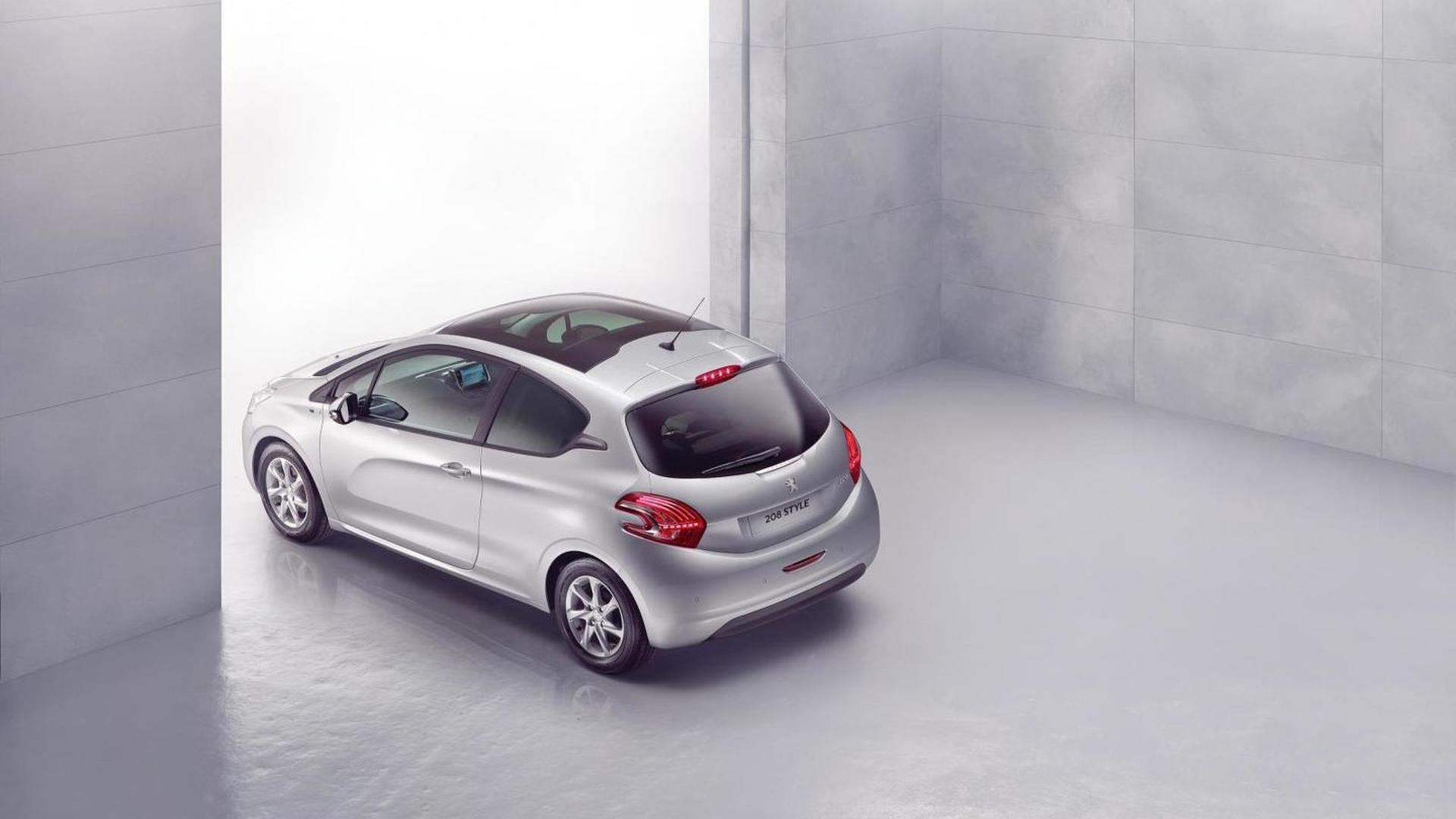 Peugeot 208 Style Edition announced for the U.K.