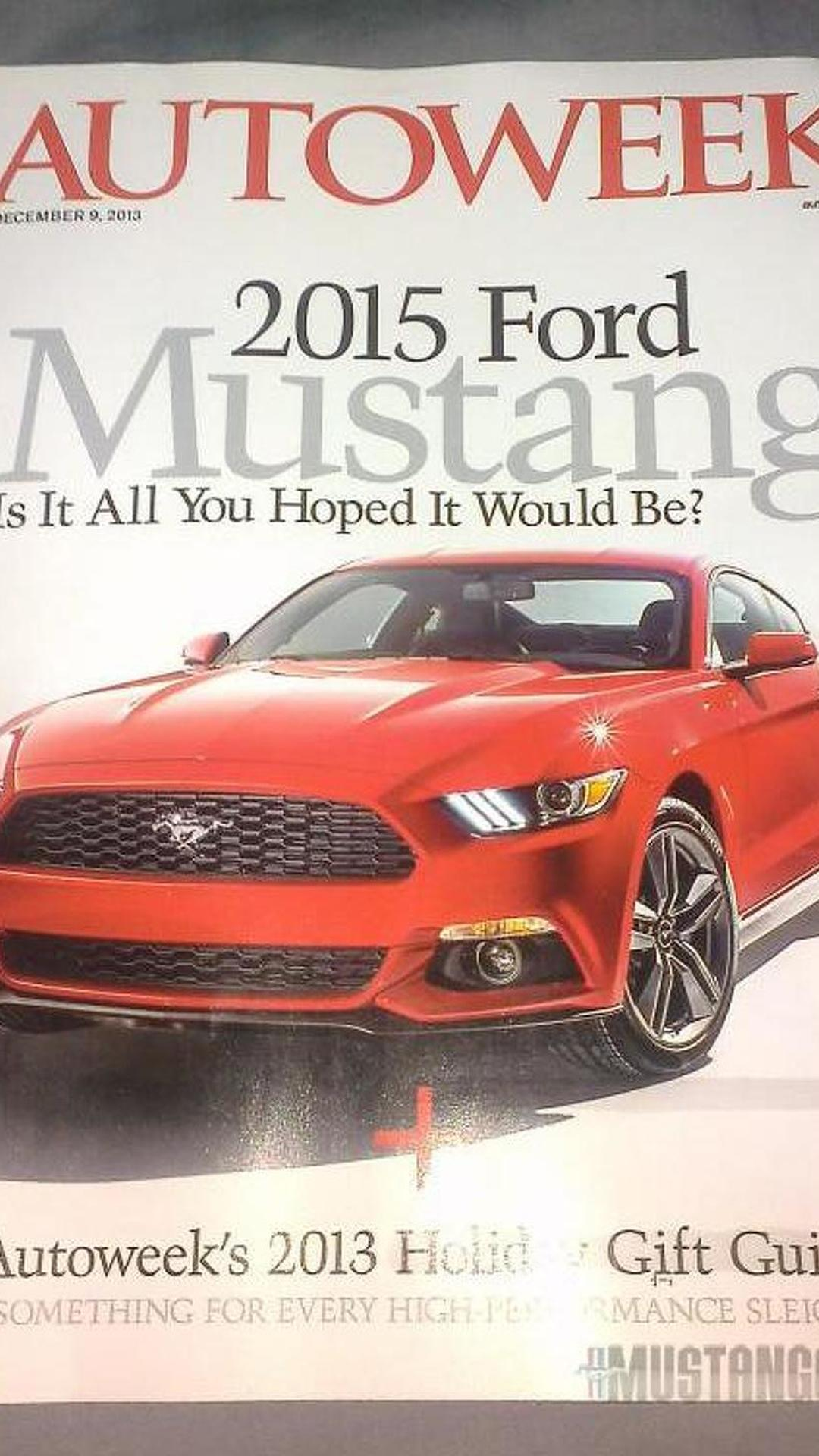 2015 Ford Mustang to be introduced alongside two new models at an event in Spain