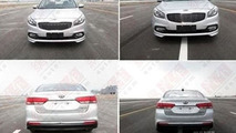 Kia K4 production version spy photo