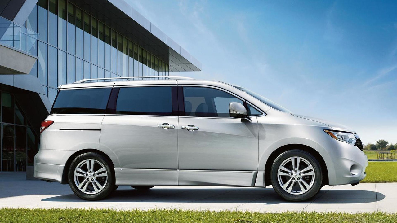 2015 Nissan Quest (US-spec)