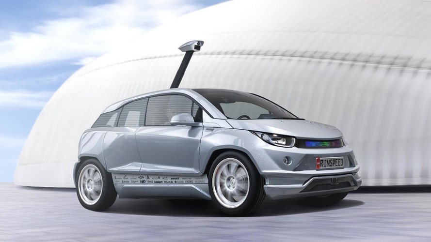 Rinspeed Budii driverless electric concept detailed, based on the BMW i3 [video]