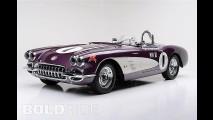 Purple People Eater Chevrolet Corvette
