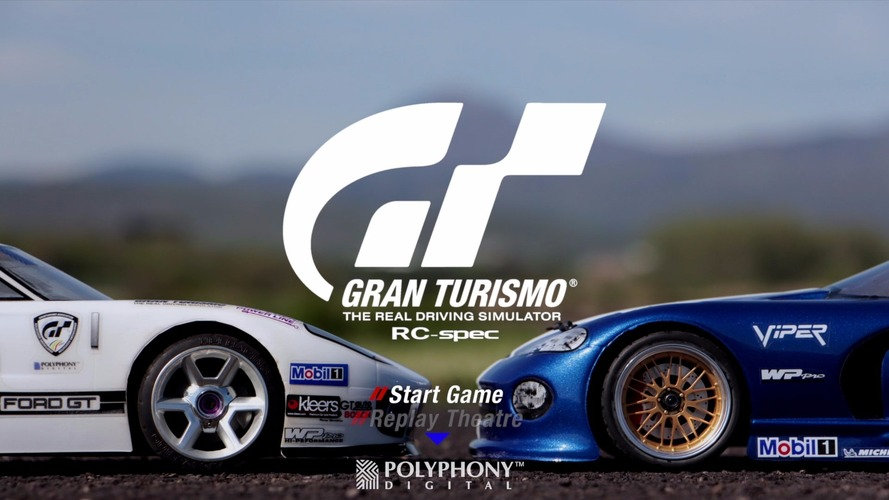 Gran Turismo gameplay recreated with RC cars is amazing