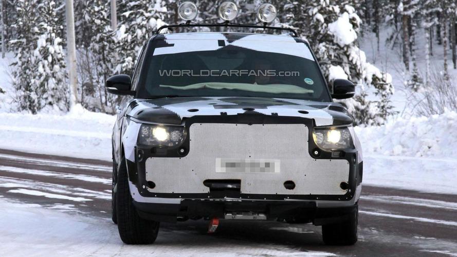 2013 Range Rover spied undergoing winter testing