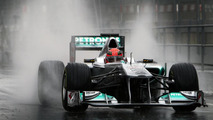 Michael Schumacher to lap Nurburgring in 2011 Mercedes W02 F1 car