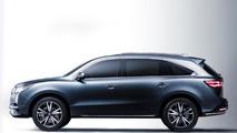 2014 Acura MDX prototype breaks cover