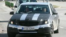 New Mercedes E-Class Black Tape Camo Latest Spy Photos
