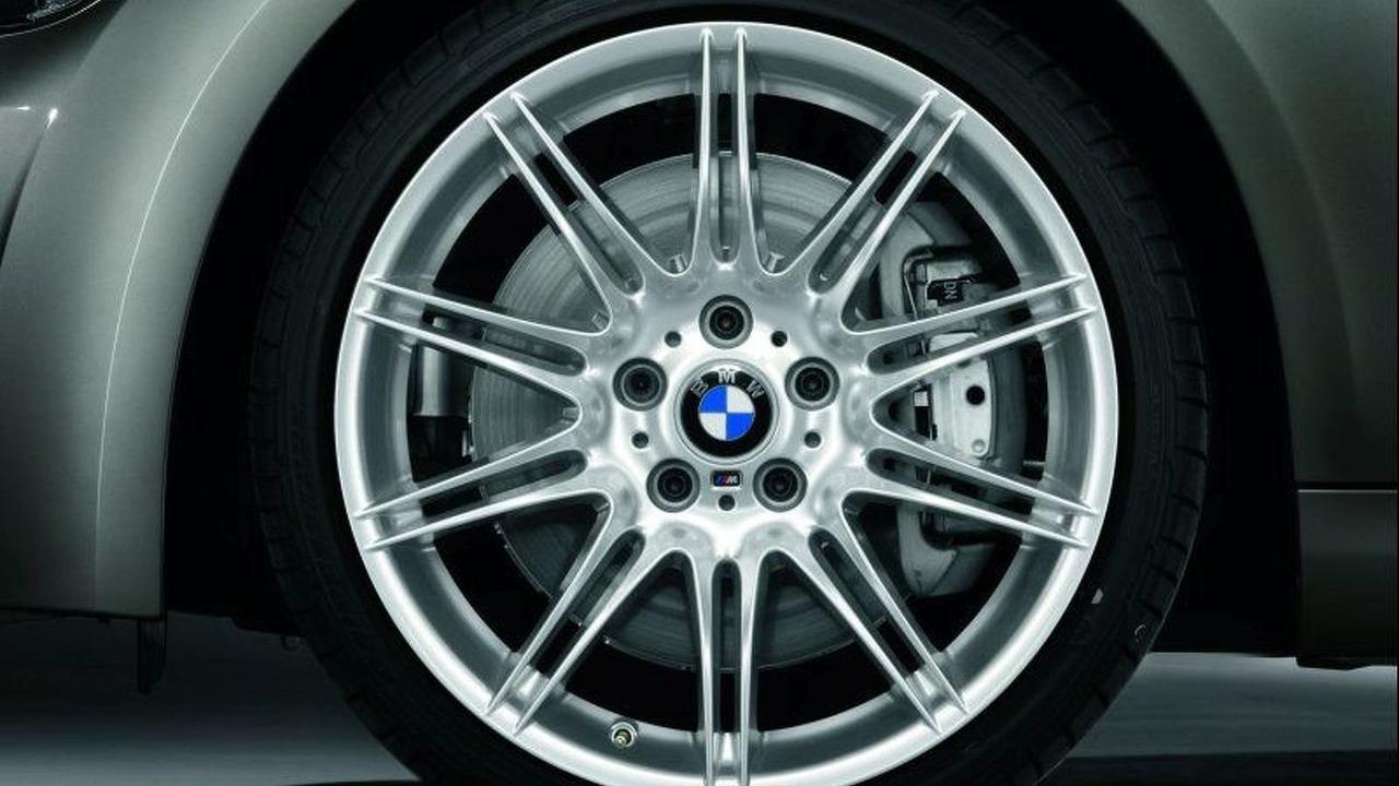 BMW 3 Series Coupe M Sports wheel