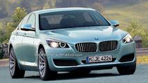 New 2010 BMW 5 Series Rendered