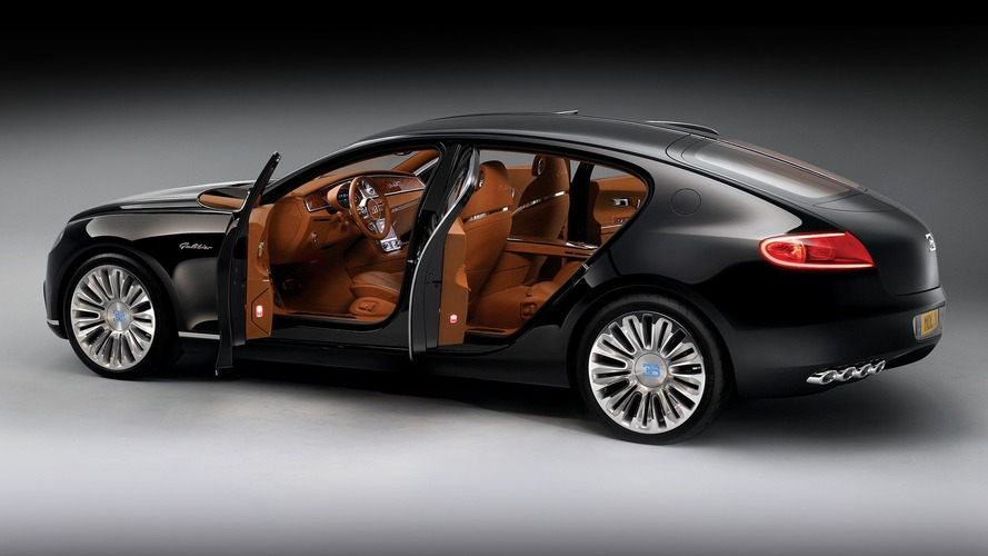 Bugatti Galibier could make it to production after all