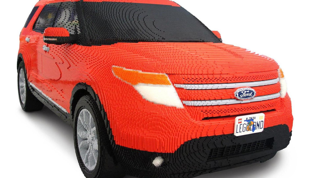 Ford Explorer in LEGO - 26.9.2011