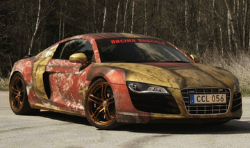 Iron Man-Themed Audi R8 Looks Like Something Straight Out of 'Civil War'