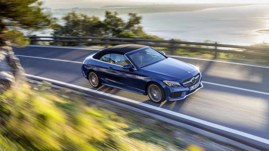 Mercedes C-Class Cabrio UK prices start at £36,200 OTR