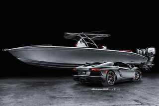 Lamborghini Aventador and Luxury Speedboat Combo Costs $1M