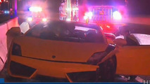 Lamborghini Gallardo accident