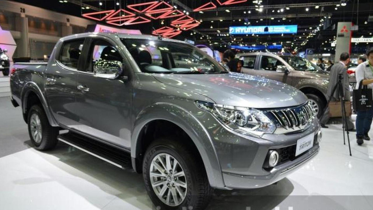 Mitsubishi Triton live at Thailand International Motor Expo 2014