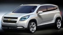 Chevrolet Orlando Concept Unveiled for Paris Premiere