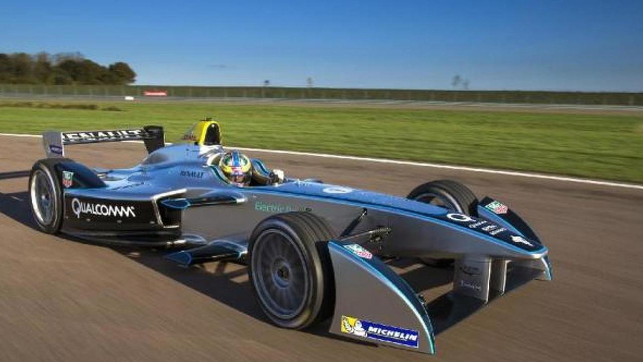 Spark-Renault Formula E race car 22.11.2013