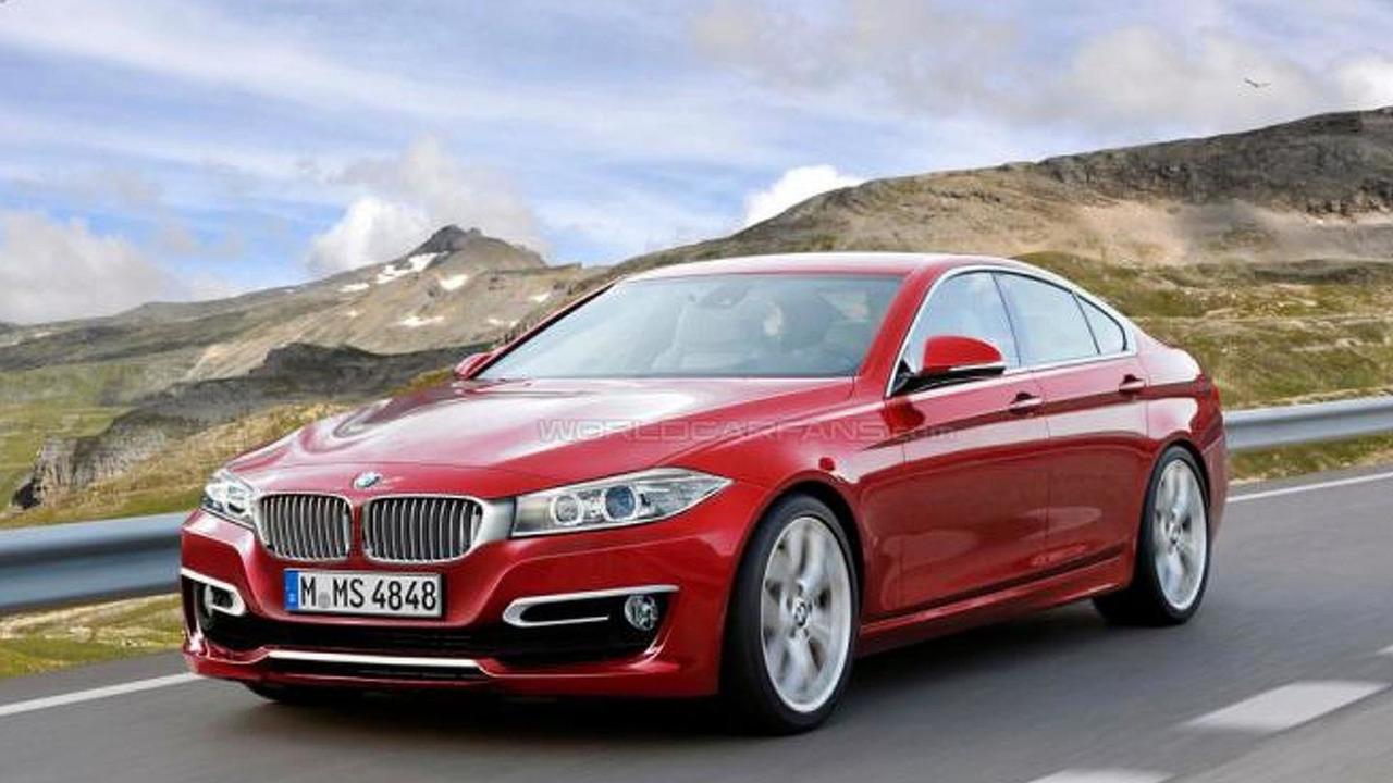 2015 BMW 4-series Gran Coupe rendering 14.05.2012