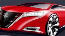 Suzuki Kizashi Concept at Frankfurt