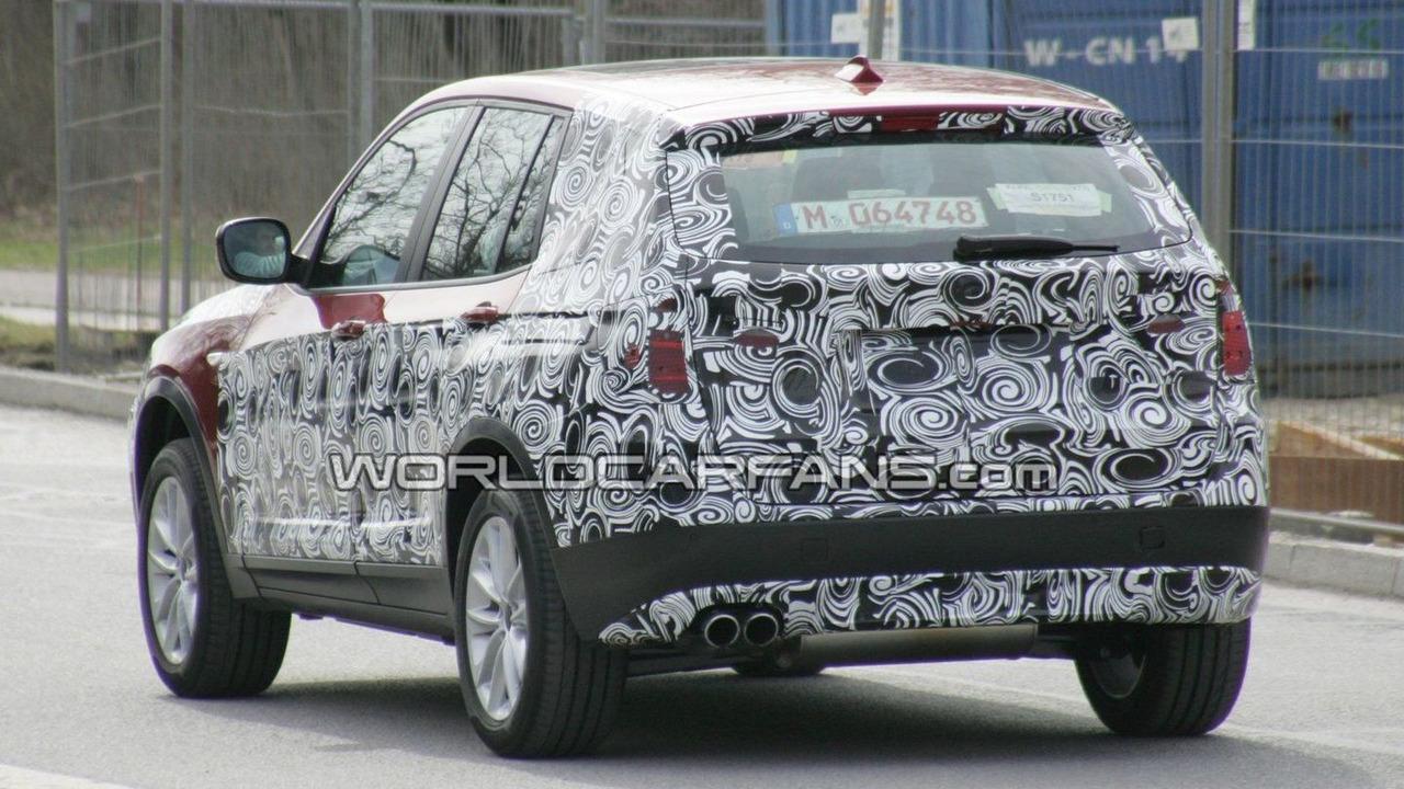 2011 BMW X3 Prototype spy photos, Munich, Germany 27.03.2010