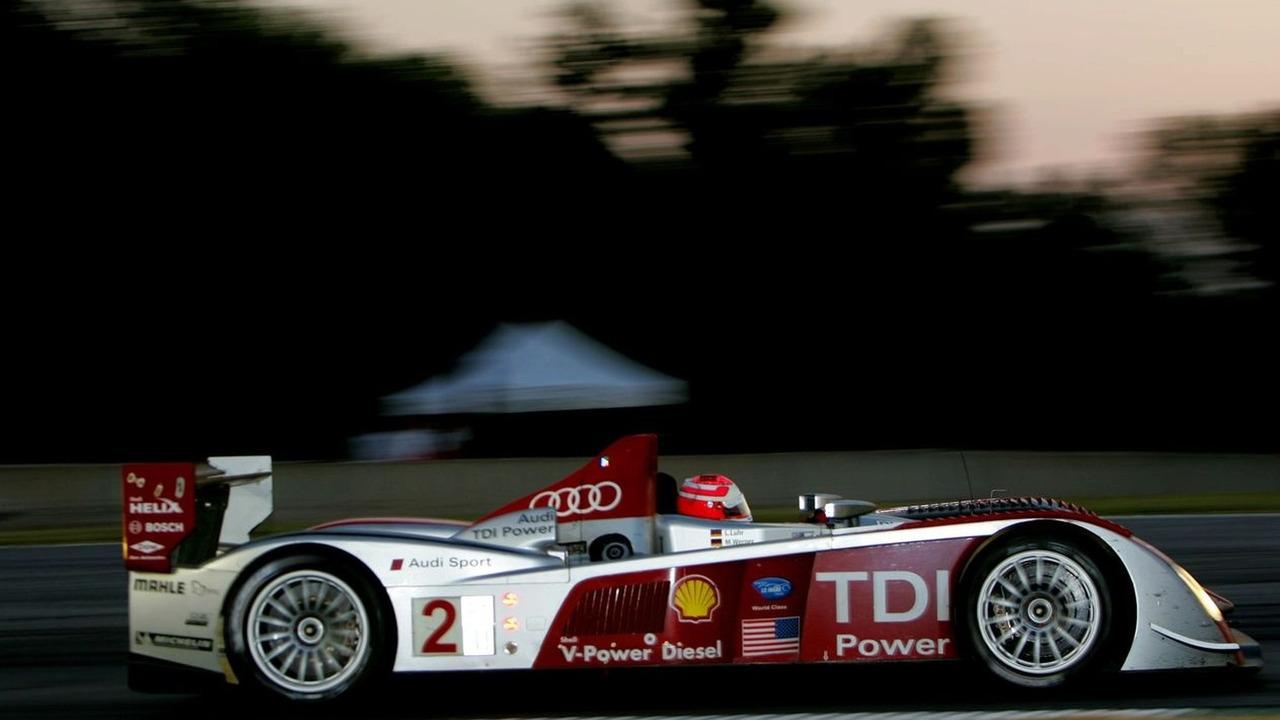 Audi R10 TDI #2 Team Audi Sport North America, Marco Werner
