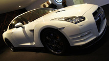 2012 Nissan GT-R facelift makes an appearance in Paris