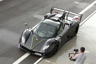 Watch a 1-of-1 Pagani Zonda Unleash 760 HP on Track
