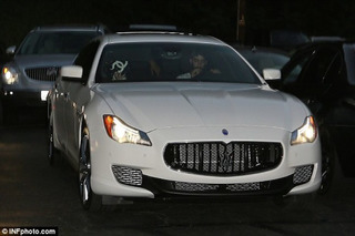 Miley Cyrus' $100K Maserati Reportedly Stolen