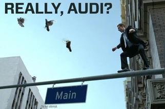 Do Audi's TV Commercials Make You Cringe?