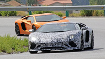 Lamborghini Aventador Roadster facelift spotted with multiple aero tweaks