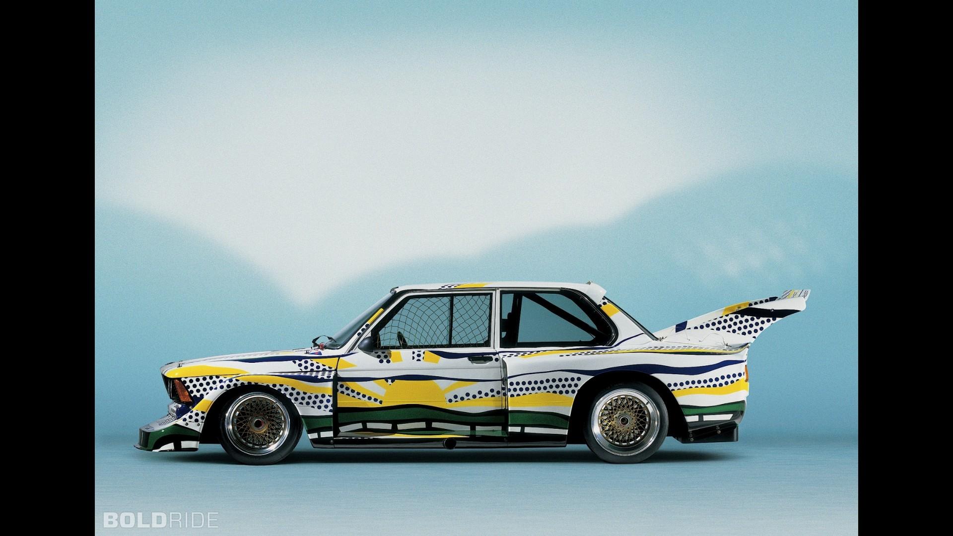 BMW 320i Roy Lichtenstein Art Car