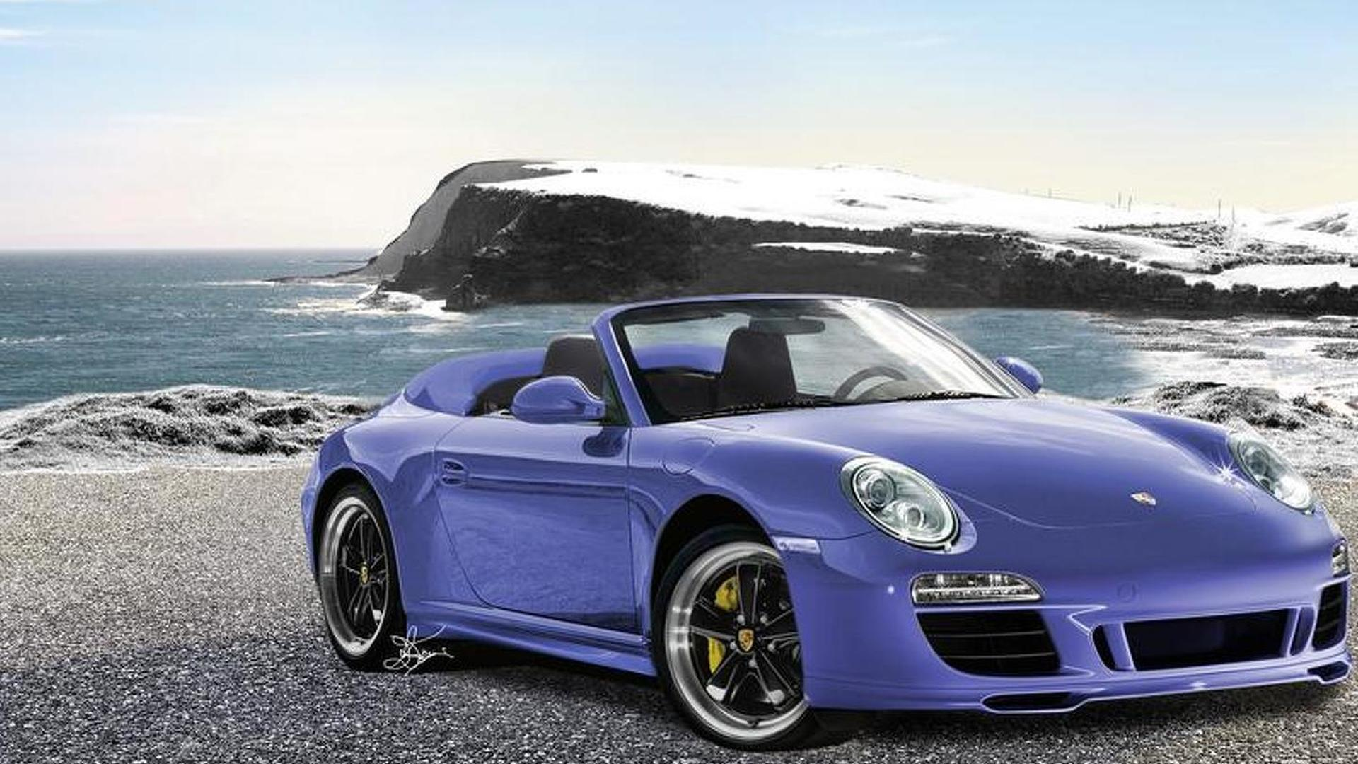 2011 Porsche 911 997 Speedster Rendered