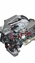 Mercedes-Benz AMG 6.3-litre V8 engine